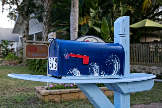anchor inn bnb mailbox